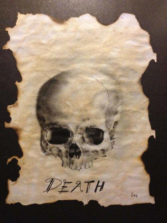Airbrush art by my self Airbrush Airbrushed Art Skull