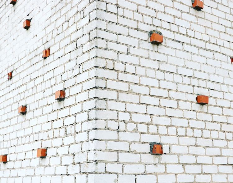 EyeEm Selects Architecture Outdoors No People Contemporary Art Art Built Structure Background Brick Wall Red