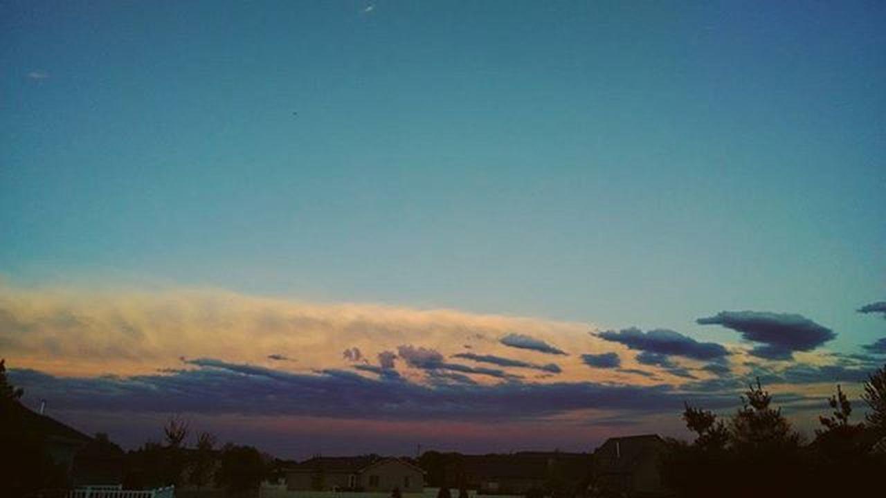 Nebraskasunset Skyline