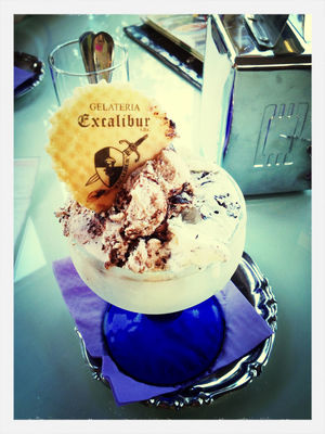 ice cream at Gelateria Excalibur by Roberta Turati
