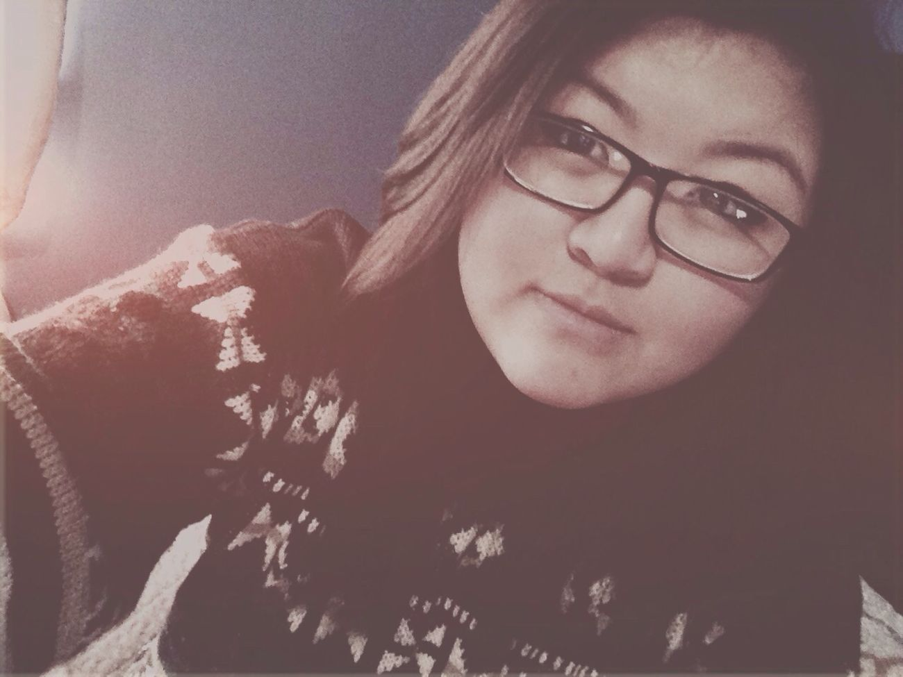 Selfportrait Selfie Sweaterweather Goodnight