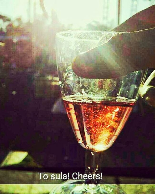 No need for a caption! Sula Sulafest Wine Sparkling Festival Cheers Picoftheday Incredibleindia