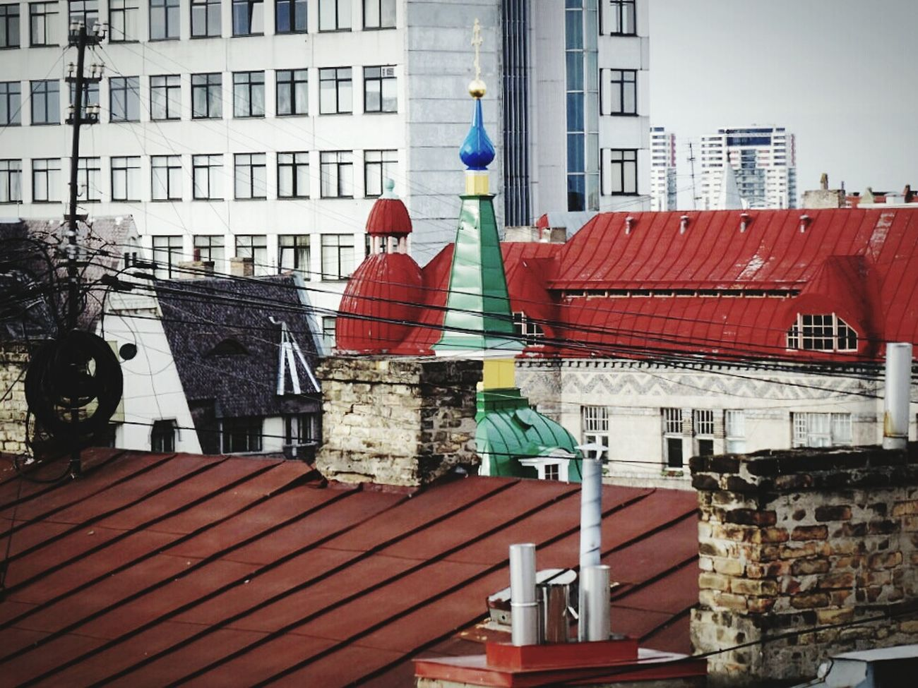 Riga Latvia Riga Roofs Over The Roofs Colors Architecture Cityscape Old Buildings Check This Out