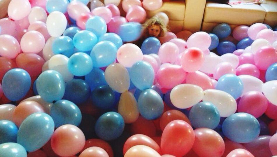 Balloons, be happy