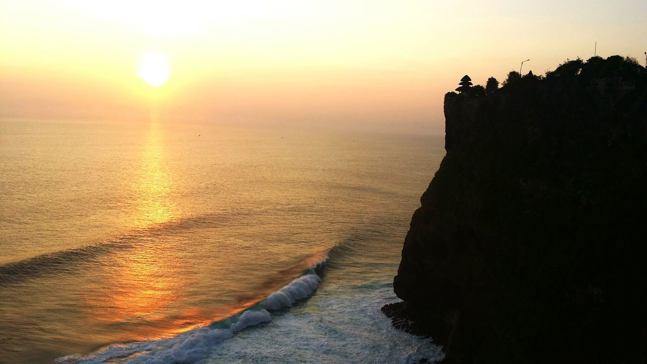 Sunset Travel Vacations Beauty In Nature Sea Nature Summerneverends Sunlight Foreversummer Cliff Bali Wheninbali Indianocean