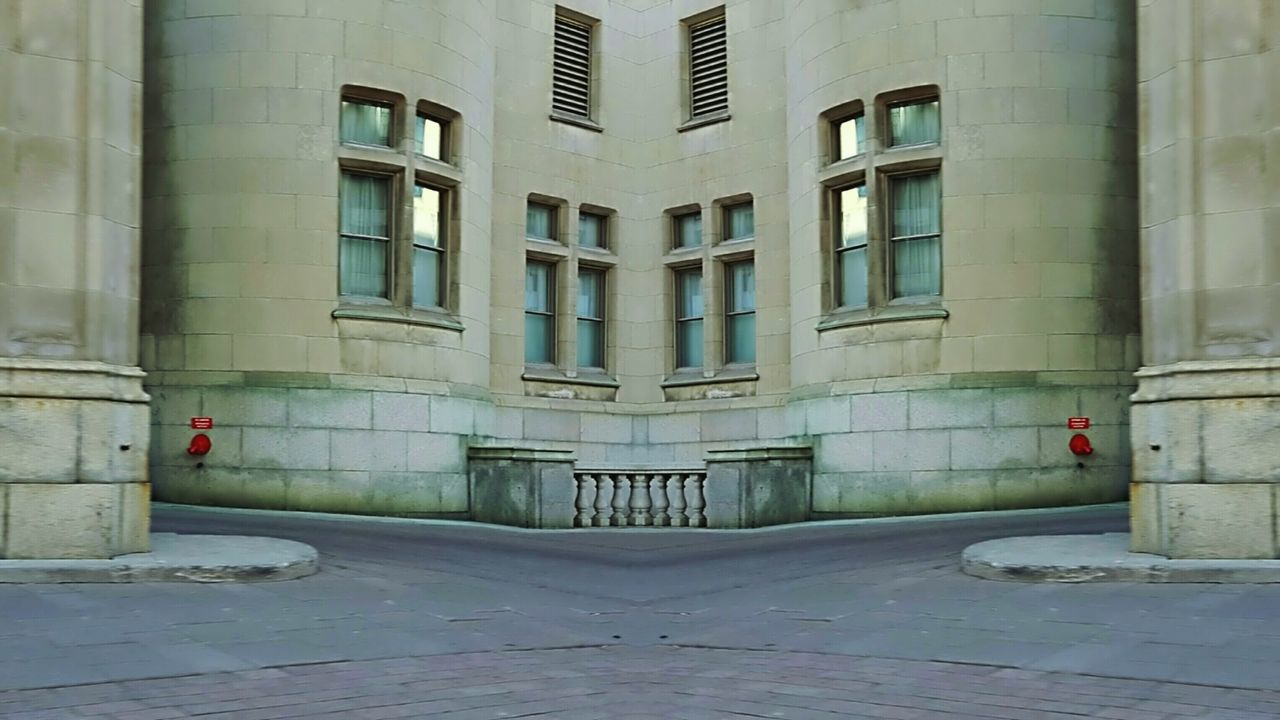 Looking at a local landmark with a slightly different eye... Corner Abstract Stone Exterior Symmetrical Historical Building Hotel Windows Columns In My Mind's Eye Canada Coast To Coast The Architect - 2016 EyeEm Awards I Love My City View From The Car