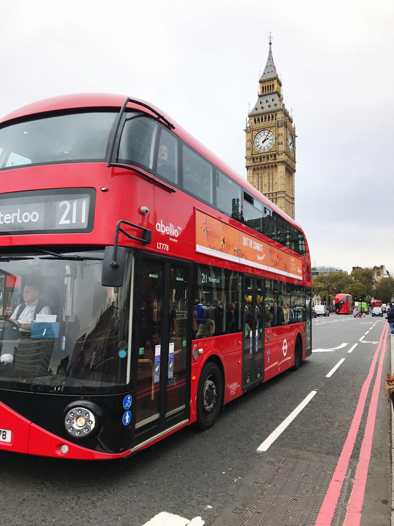 London Big Ben London London Bus
