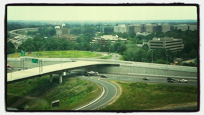 capital beltway,from afar