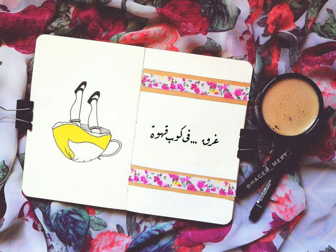 No People Diary Indoors  Day Art, Drawing, Creativity Art Gallery Artist Art Illustrator Artphotography Inkdrawing Draw Illustration Ink Drawing Sketchbook FreeTime ArtWork Cinderella Coffee Coffee Break Mobilephotography Egyptian Art Font خط_الرقعه Visual Feast