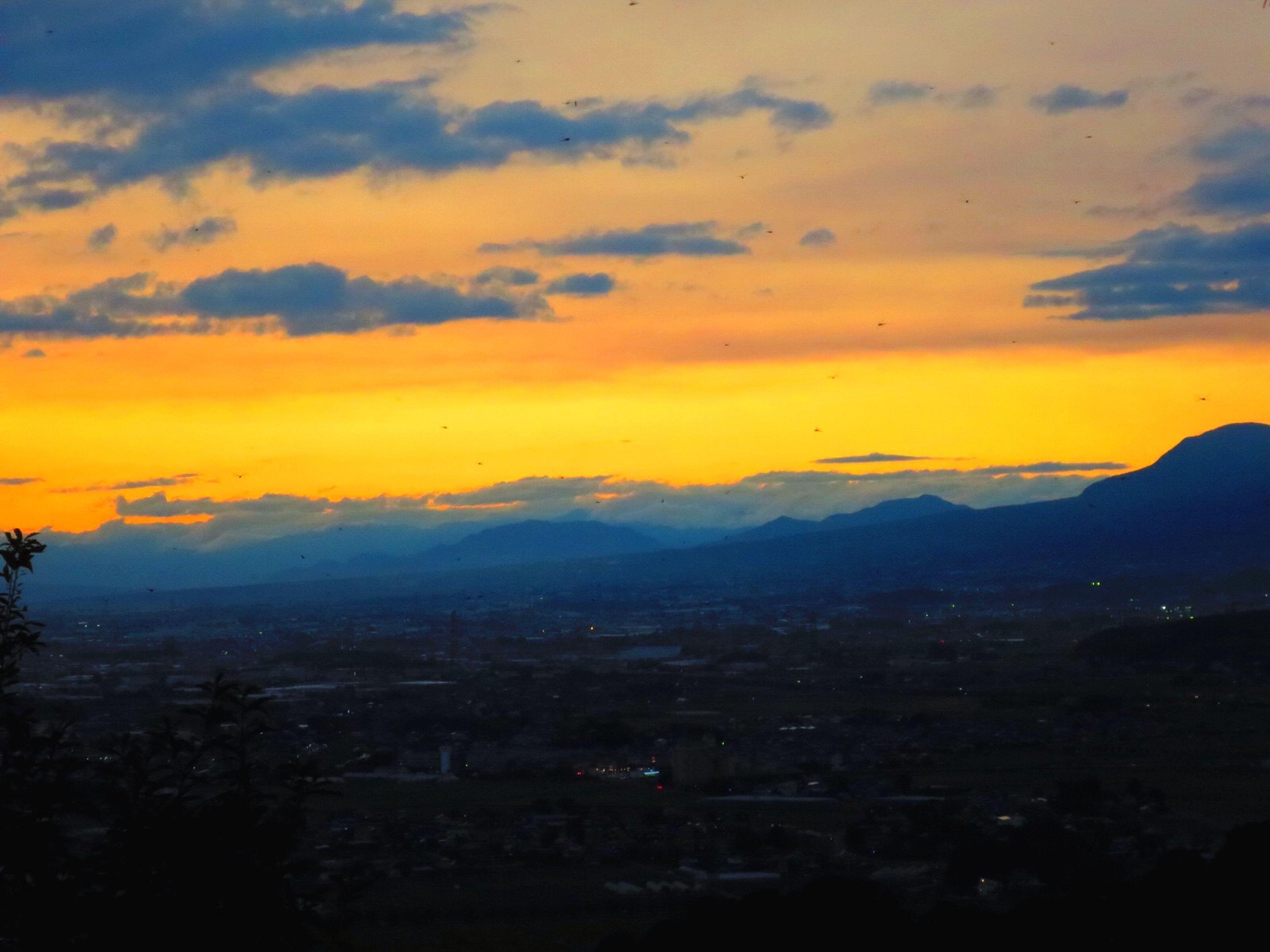 お疲れ様でした。 Canon S120 Twilight Sun Set Afterglow