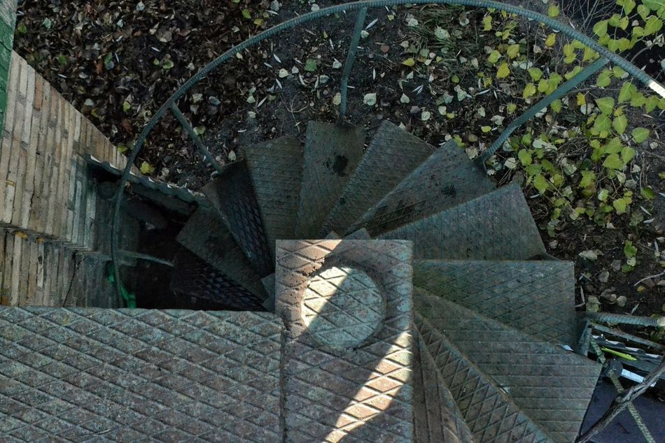 Built Structure Architecture No People Spiral Outdoors Steps And Staircases Staircase Day Close-up Spontaniouscaptures Shotoftheday