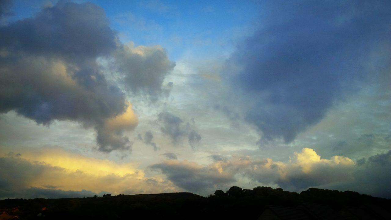 Sky Cloud - Sky Dramatic Sky Beautifulsky Dramatic Sky Holmfirth Yorkshire
