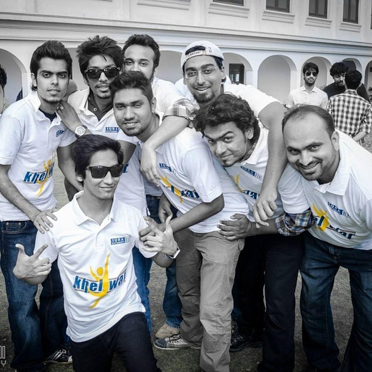 Btl Activity Event Launch khelwar team university friends sports iqrauniversity karachi pakistan