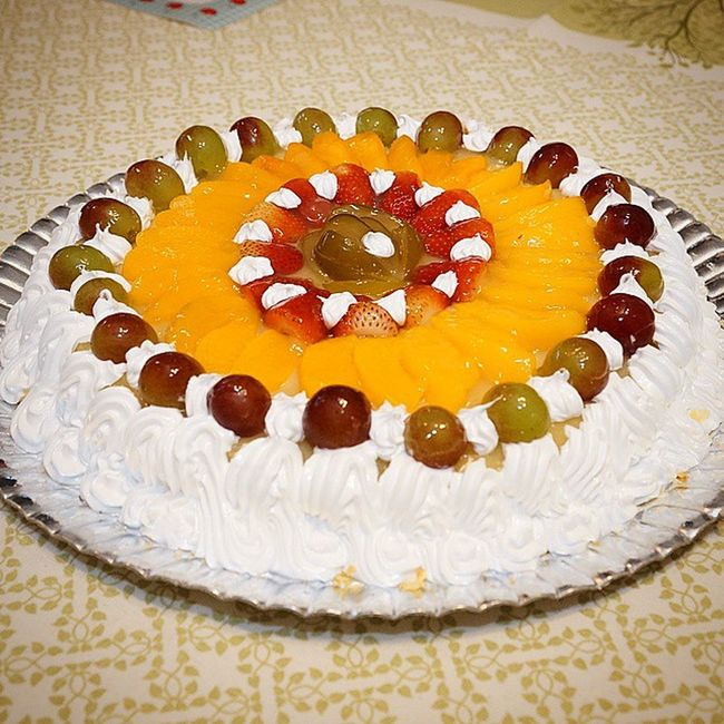 Ahhhh a Tortadefrutas do Paganelli a minha preferida! Hehehe Birthday Happy instaphoto