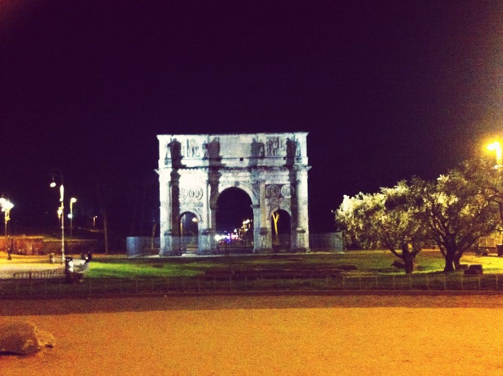 Roma Spring Love Italy Architecture ArcoDiConstantino Roma❤️ Panorama Arco Romebynight