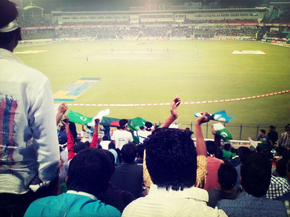 And pakistan wins! Watching Cricket Mirpur Cricket Stadium India Pakistan
