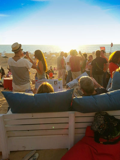 Beach Beach Bar Beach Life Beach Sunset Beach Time Chill Couple Lifestyles Lounge Magazine Meco Outdoors Photographer Portugal Sky And Sand Summer Summertime Sunlight Sunny Sunset Sunset Party Vacation The Essence Of Summer The Great Outdoors - 2016 EyeEm Awards Meco Beach