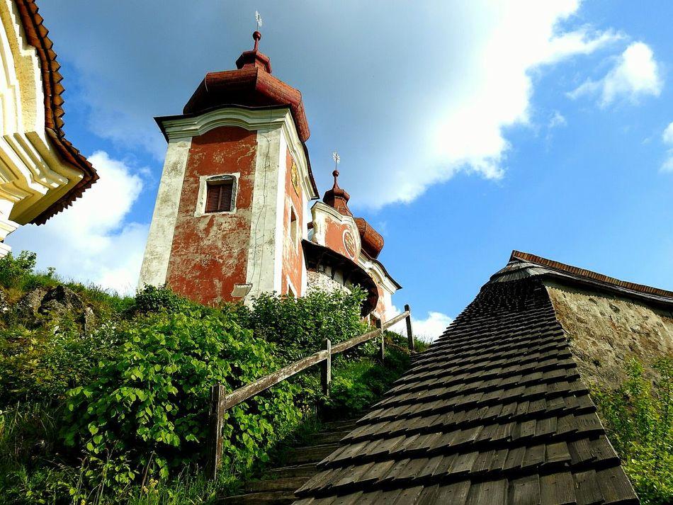 Calvary Calvary Church Calvari Calvario Calvary Chapel BanskáŠtiavnica Banská štiavnica Kalvarija Sky Slovakia