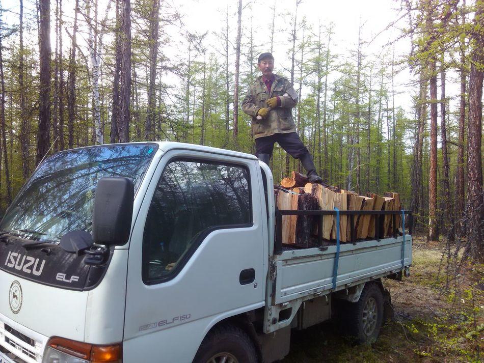 Заготовка дров на зиму дрова будет тепло зимой отец