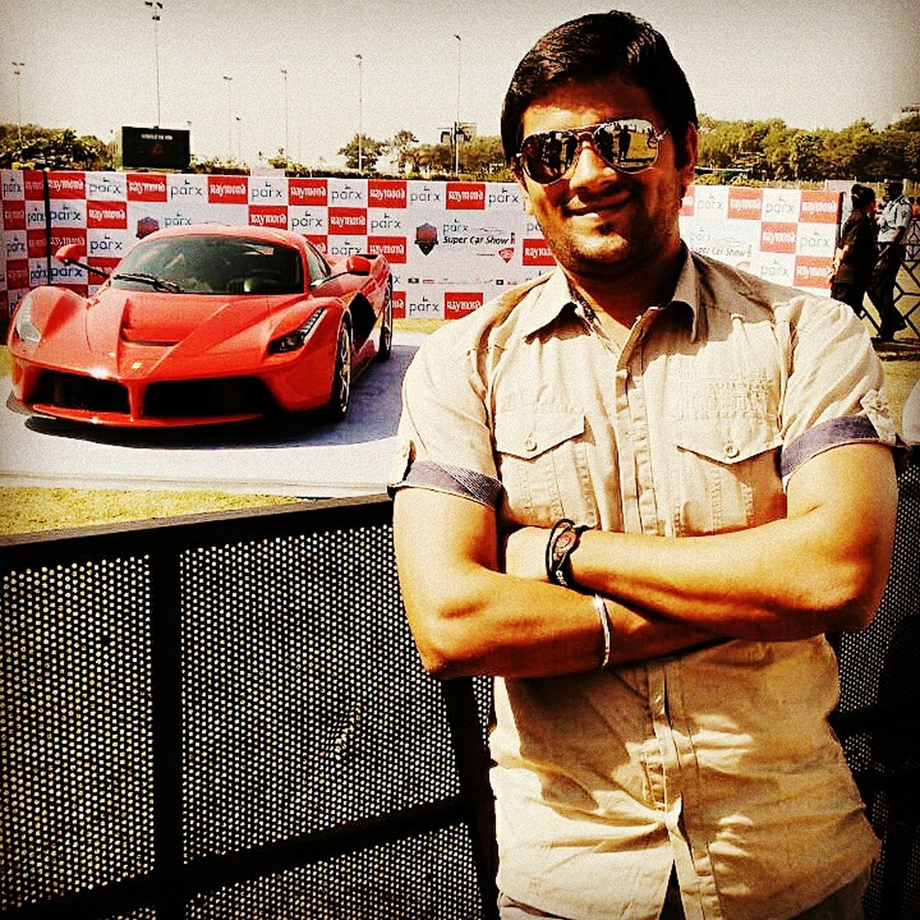 Me with LOVE.... ?? Car Show LaFerrari