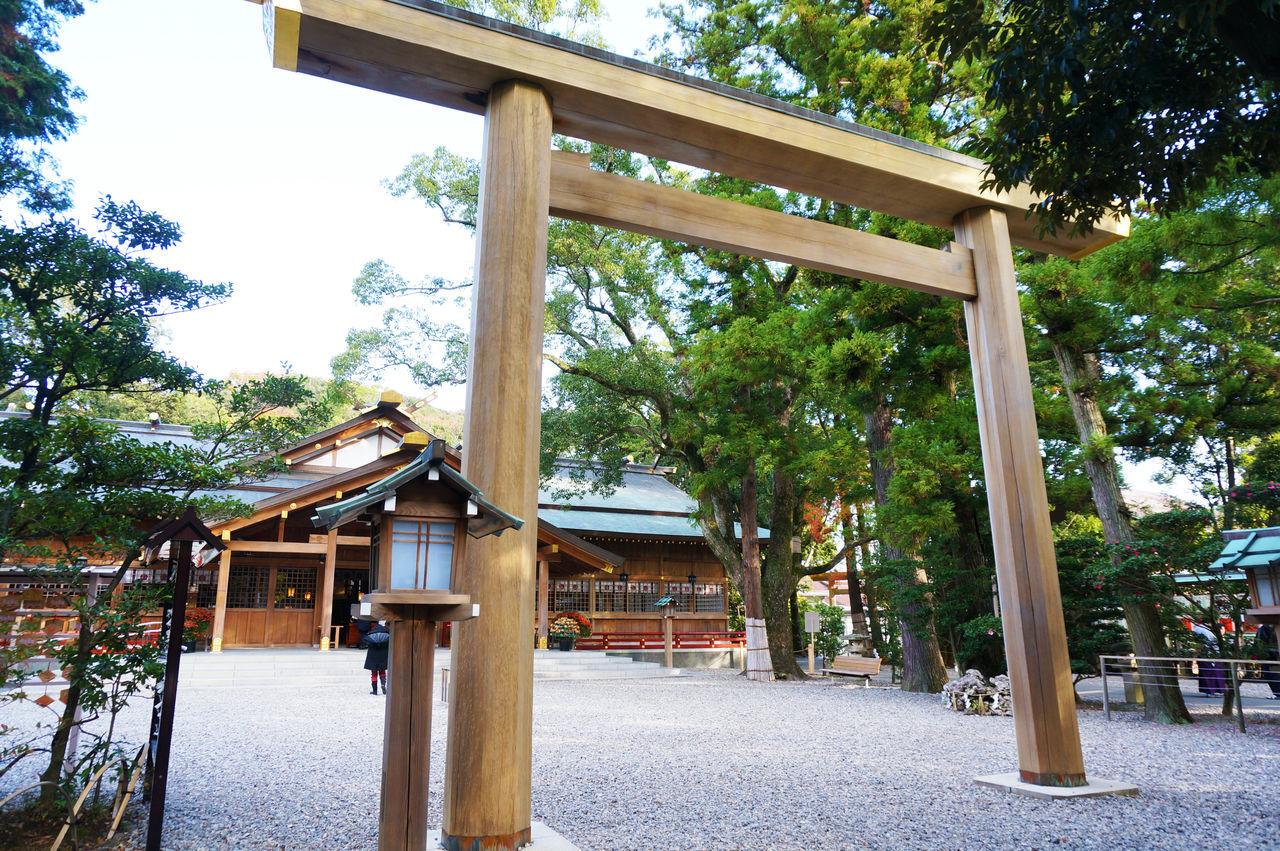 2014 Architecture Iseshima Sarutahiko Shrin Shrine Sky Tree お伊勢参り 三重県 伊勢 猿田彦神社 神社