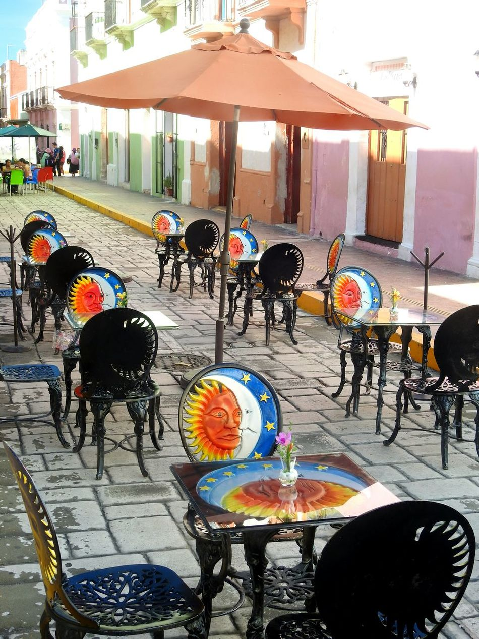 Tranquility Streetphotography Outdoor Restaurant Colorful No People