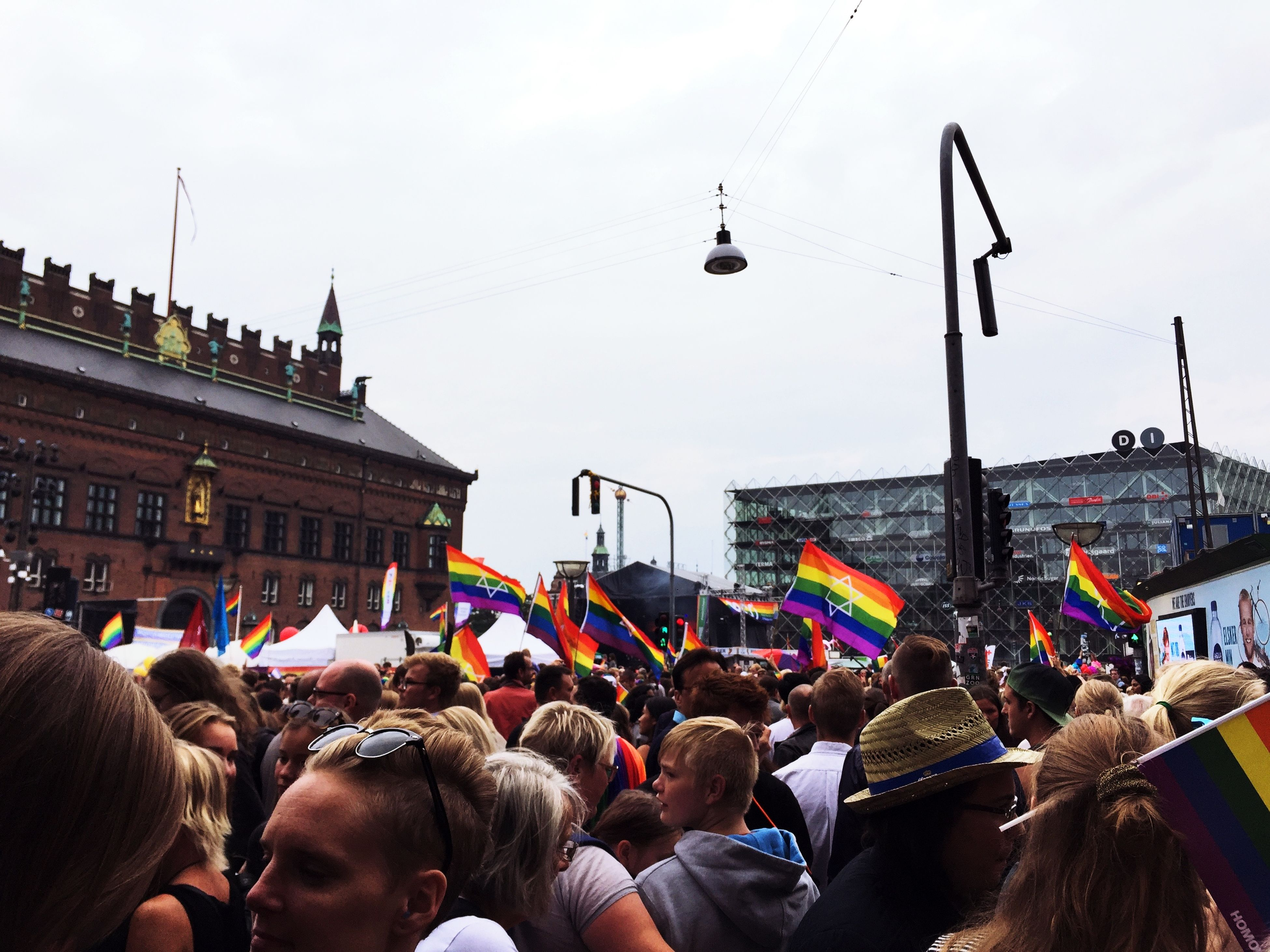 Crazy People Nice Day No Place For Fascism No Place For Homophobia No Place For Racism No Place For Sexism Pride