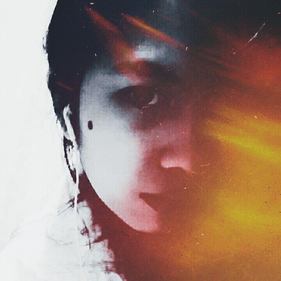 Close-up EyeEmNewHere Phonetography Eyeemphoto Phonephotograpy EyeEm Happiness EyeemPhilippines Gray Black Ynasphoto Selfie Snow Selca Instaselfie Selstagram