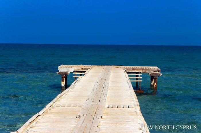 Walk and jump if you can Walkway Wooden Walkways Seashore