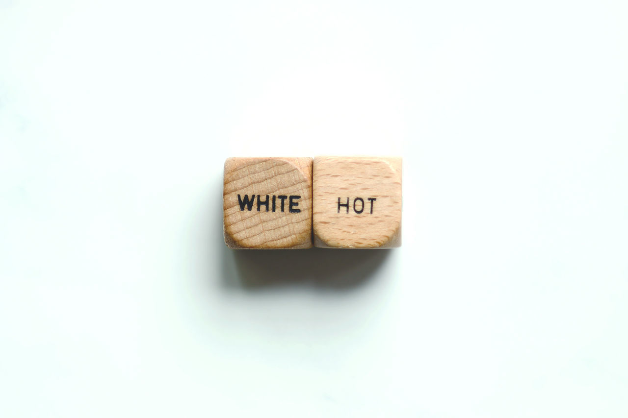 White hot Bright Concept Enthusiastic Glowing Idiom Impassioned Phrase Popular White Hot Zealous