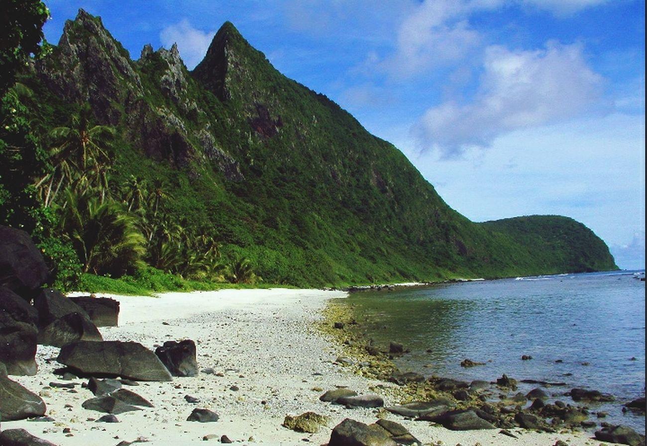 Landscape American Samoa Nationalpark United States