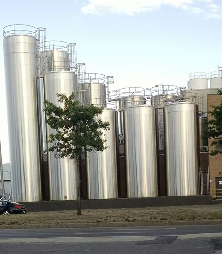 Storage Creamery Milk Production Taking Photos Technology Shiny Tanks Not In A Rush