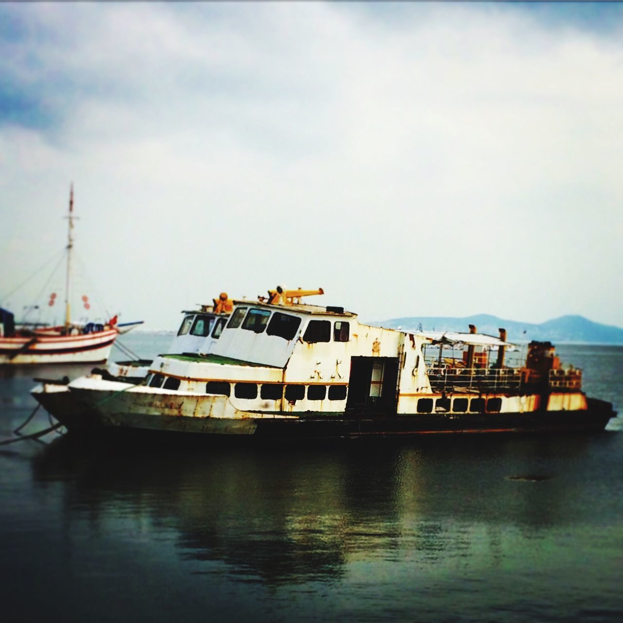 Wreck Sea Reflection OpenEdit Boats Rust
