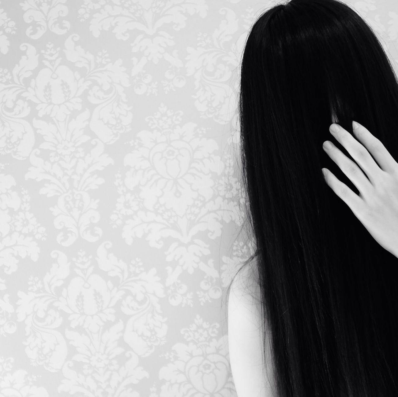 Monochrome Blackandwhite Hand Hair
