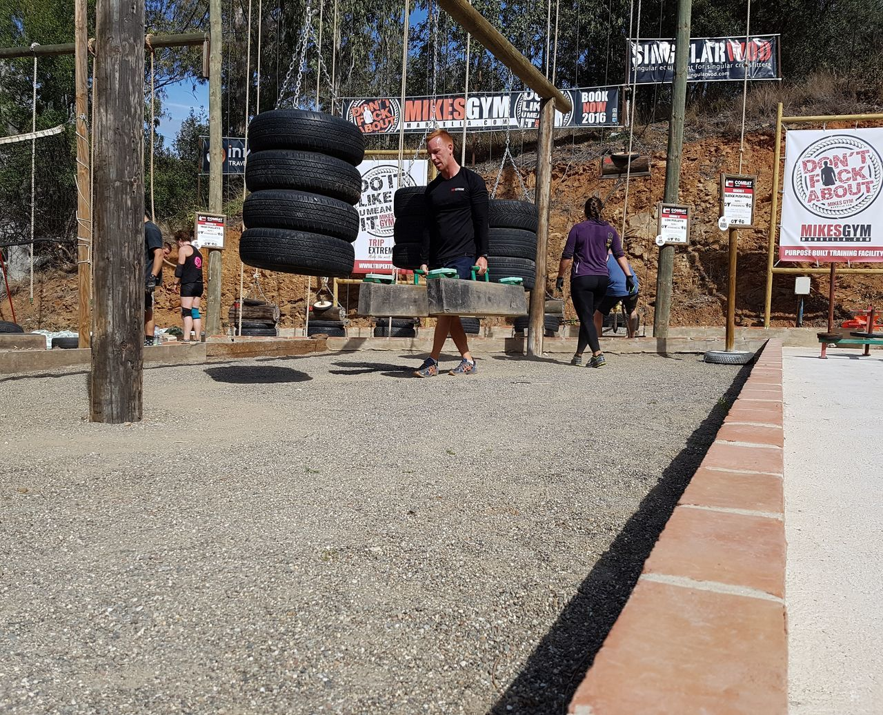 www.tripextreme.es MikesGym MikesGymMarbella Ocr OCRBootcamp Strongman Obstaclerun Obstaclecourserace Obstacle Course Obstaclecourseracing Farmerswalk