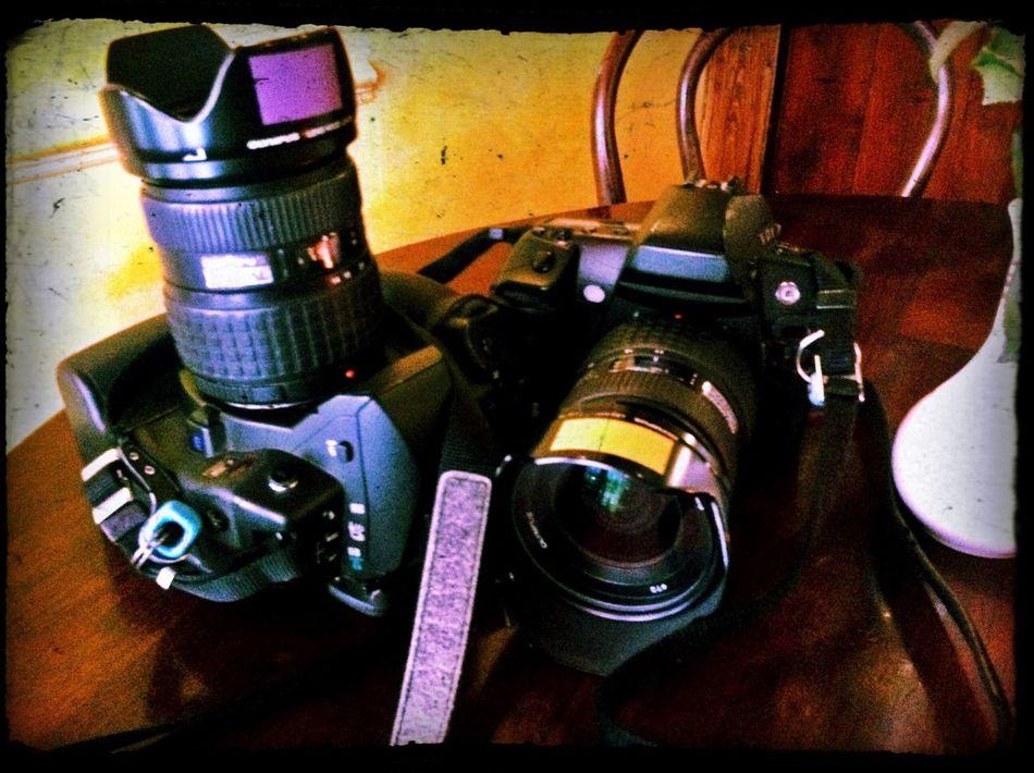My Cameras. Steve Merrick Zuiko Olympus Stevesevilempire Camera Olympus E3 Olympus E5