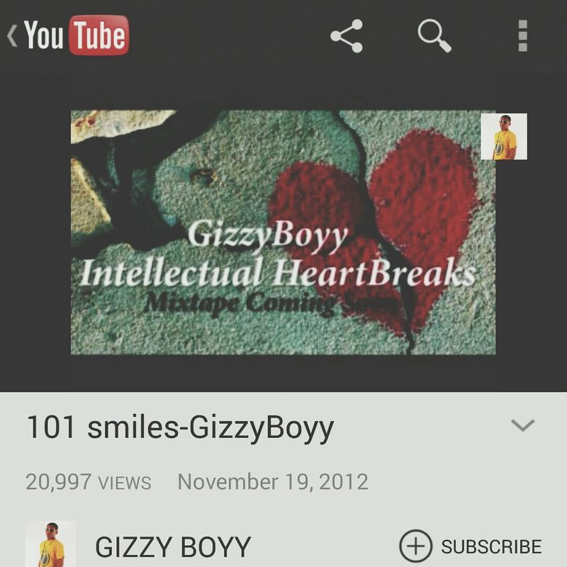 sub to my youtube page & Smile Teamgizzyboyforever Love Honor
