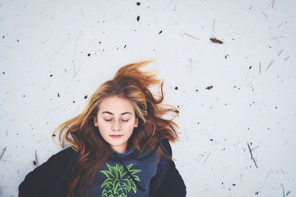 Beautiful stock photos of natur, 18-19 Years, Blond Hair, Caucasian Ethnicity, Cold Temperature