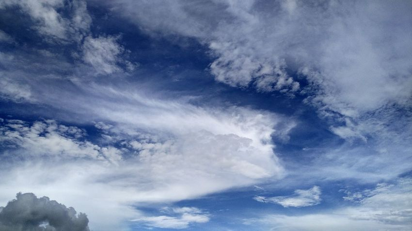 Cloud - Sky Nature Blue Dramatic Sky Sky No People Beauty In Nature Scenics Outdoors Day Space Freshness Power In Nature The Week On EyeEm