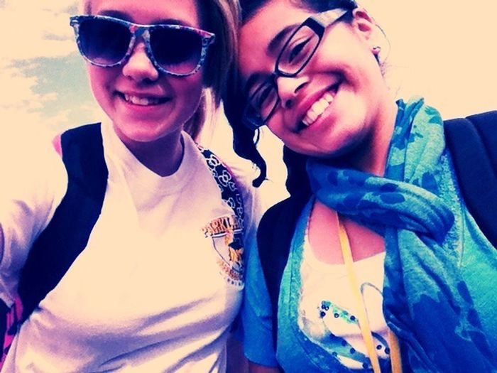 Me And My Friend(: