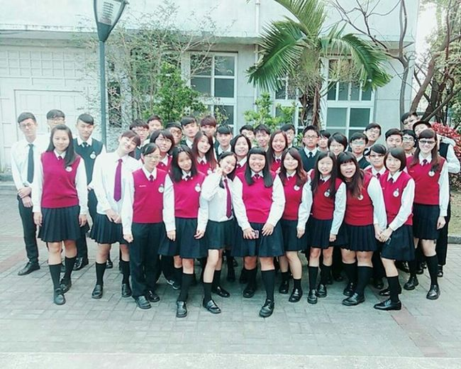 D-6 Graduate Senior High School Grade 3 Class 3 畢業照