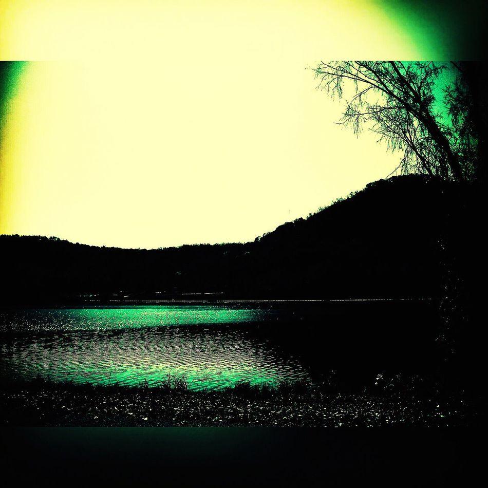 Lake Lake View Lake Winona Tranquil Bluffs The Driftless Region Green Colors