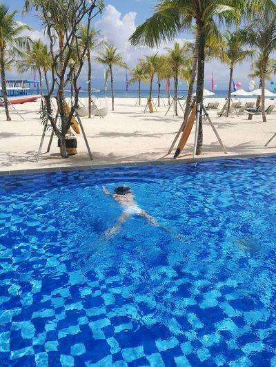 Bali, Indonesia EyeEm 巴厘岛 Swimming Pool 蓝梦岛 Friend ✌