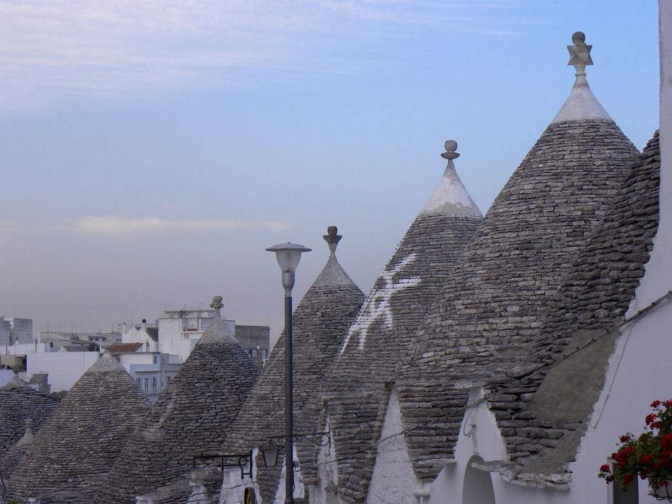 Alberobello Alberobello - Puglia Alberobello City Alberobellocity Alberobelloexperience Alberobellophotocontest Architecture Building Exterior Built Structure Day No People Outdoors Place Of Worship Religion Sky Spirituality