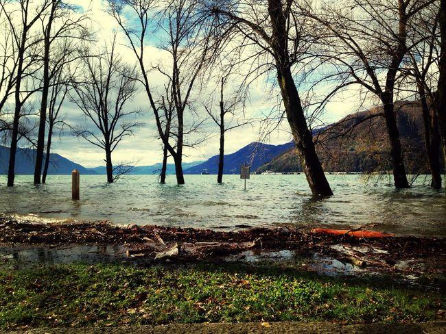 Sailing boat safe! Water Lake Flooding