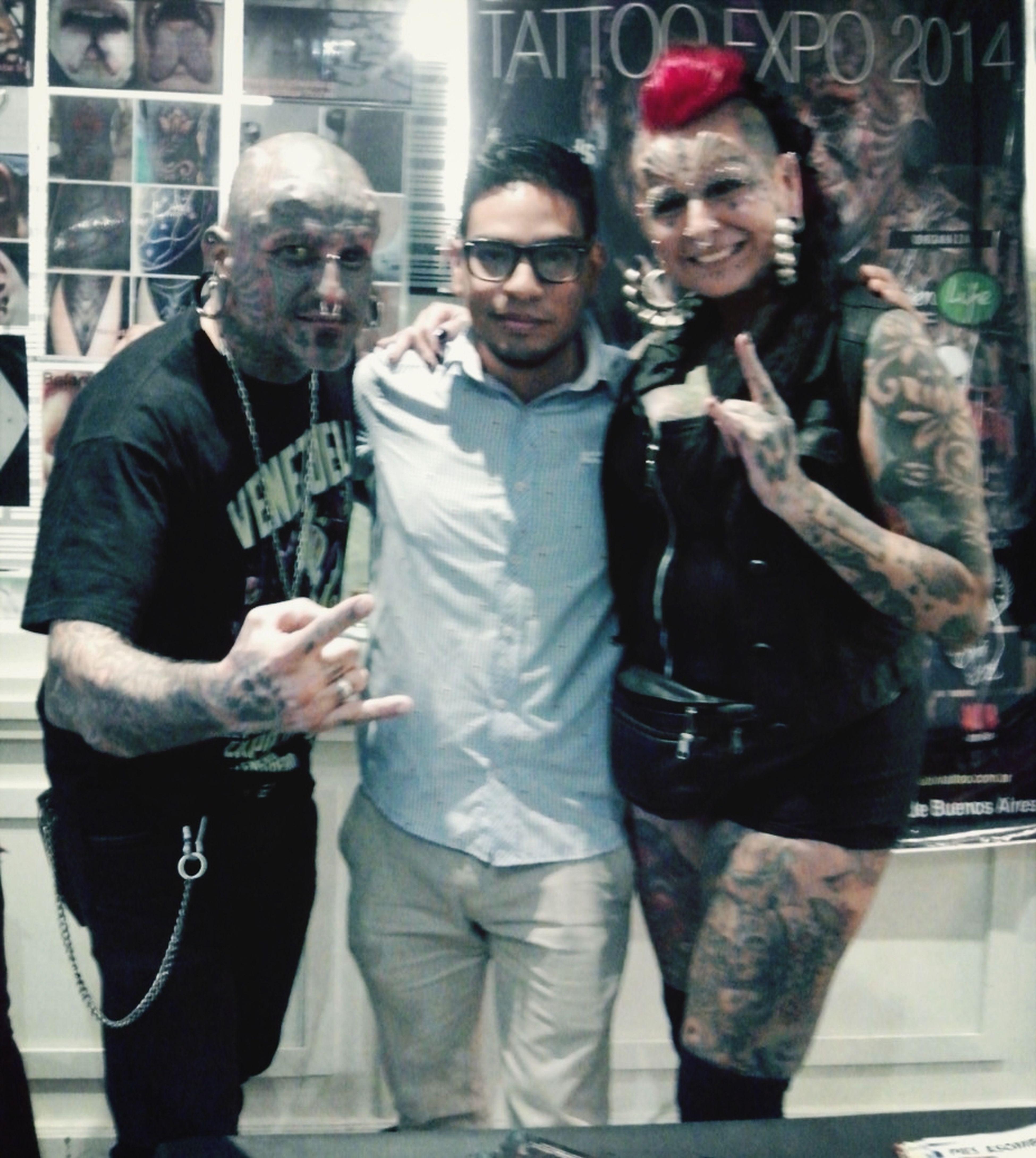 Tattoo Artist Convención Gabyperalta Victorperalta Tattoos