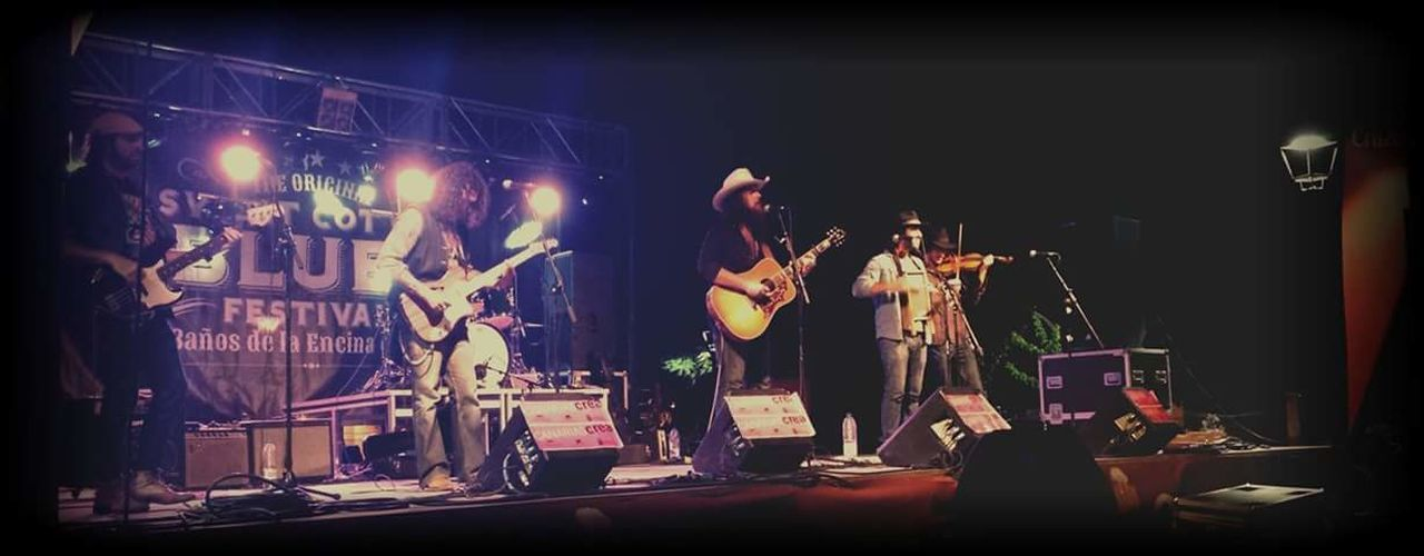 Blues Sweet Cotton Blues Baños De La Encina Jaen Province Jaen Provincia Red Beard Band