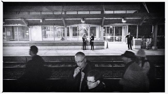 Monday Night Footfall. Photojournalism Documentary My Daily Commute Train Eye4photography  EyeEm Best Shots Streetphotography Hipstamatic Showcase: November