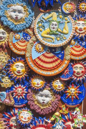 Sicilia Sicily Close-up Multi Colored No People Trinacria