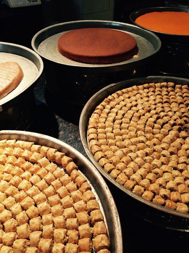 Travel Dubai UAE food Arabic dessert Sweets Baclava Arabic Food Middle East Middle Eastern Flavours Dessert